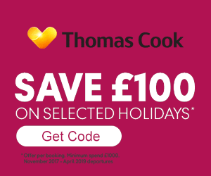 Thomas Cook Discount Code